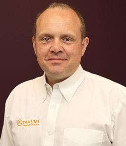 Michael O'Neill Facilities & Innovation Manager at Takumi